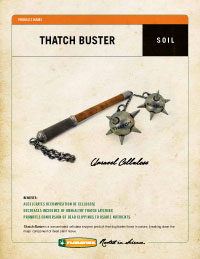 thatch buster